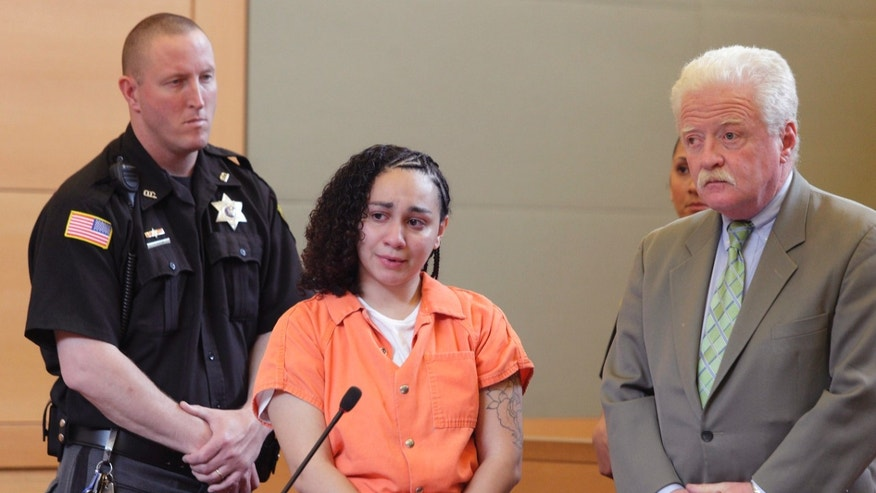 April 25: Jessica Vega, left, appears with her attorney Jeremiah Flaherty at Orange County Court in Goshen, New York.
