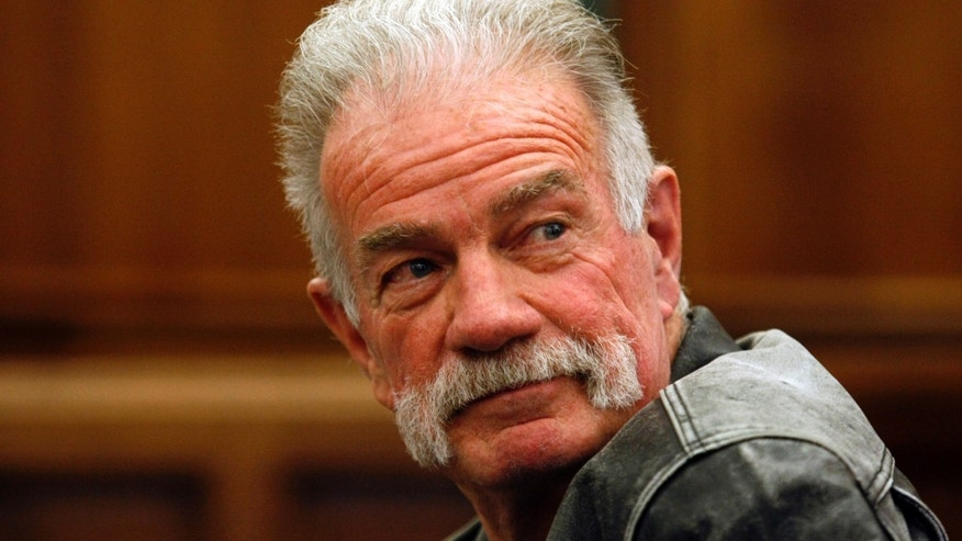 April 21, 2011: Controversial Florida pastor Terry Jones sits in the courtroom of the 19th District Dearborn Court for a hearing in front of Judge Mark Somers about Jones' right to protest in Dearborn, Michigan.