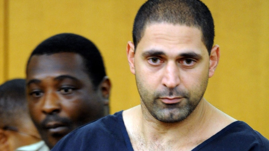 Aug. 13, 2010: Elias Abuelazam, attends an extradition hearing in Fulton County Superior Court  in Atlanta. Abuelazam, an Israeli citizen, is on trial for the death of 49-year-old Arnold Minor, the first murder trial in Michigan connected to a series of deadly stabbings in 2010.