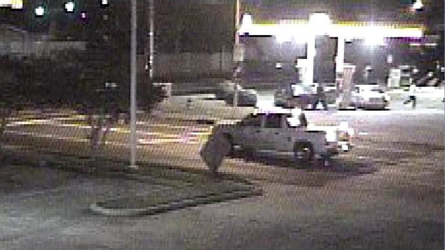 This undated photo shows a pickup truck of interest to Lafayette, La., investigators in the search for Michaela Shunick.