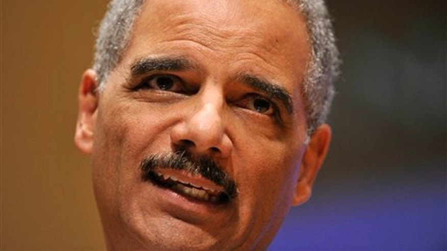 March 5, 2012: Attorney General Eric Holder speaks at the Northwestern University law school in Chicago.
