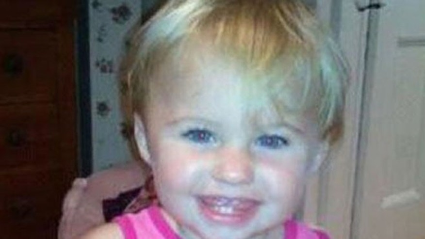 This undated file photo obtained from a Facebook page shows missing toddler Ayla Reynolds.