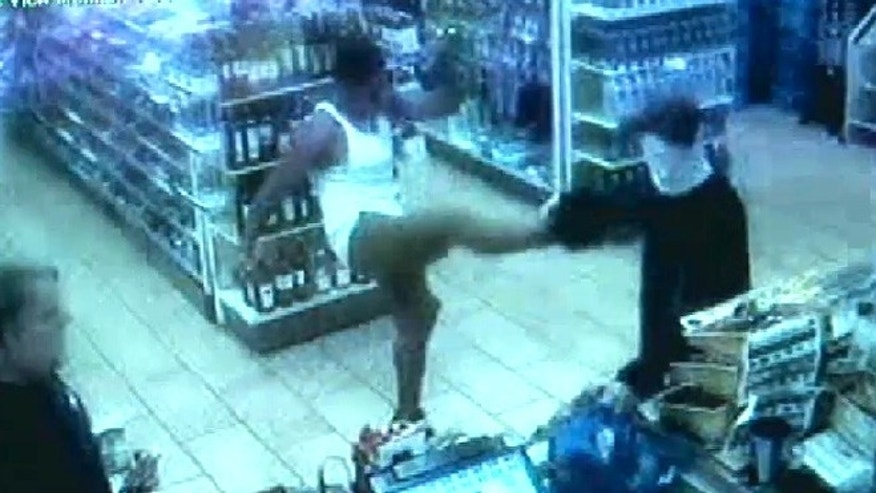 The customer, who declined to give his name, told WBDO.com that at first he thought the robber was kidding, until the store clerk began handing over money.