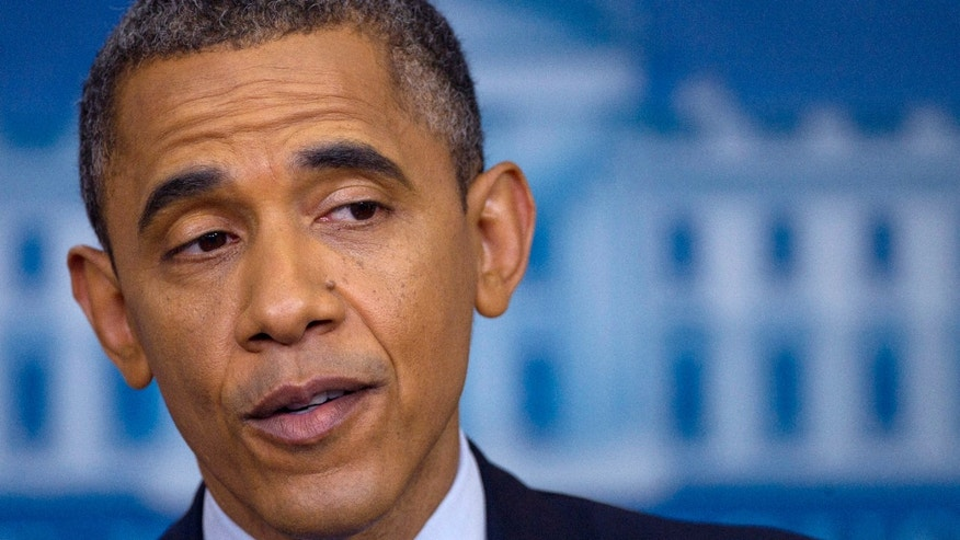 June 8: President Barack Obama talks about the economy in the briefing room of the White House in Washington. The Service Employees International Union plans to focus its resources on fewer states this year while working to help re-elect  Obama.