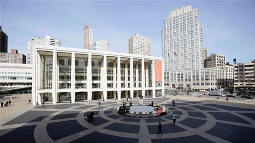 March 8, 2011: In this file photo Avery Fisher Hall, in New York's Lincoln Center, is shown.