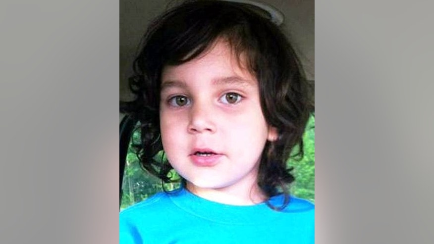 The family of 4-year-old Carnel Chamberlain, above, said his body was found Thursday under a wood porch or deck at the home where he lived with his mother and her boyfriend.