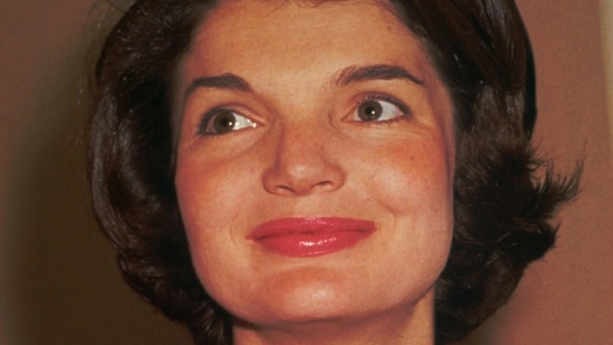 This 1961 file photo shows Jacqueline Bouvier Kennedy, wife of President John F. Kennedy. A special summer exhibit on Jackie Kennedy's life on Cape Cod has opened at the John F. Kennedy Hyannis Museum.