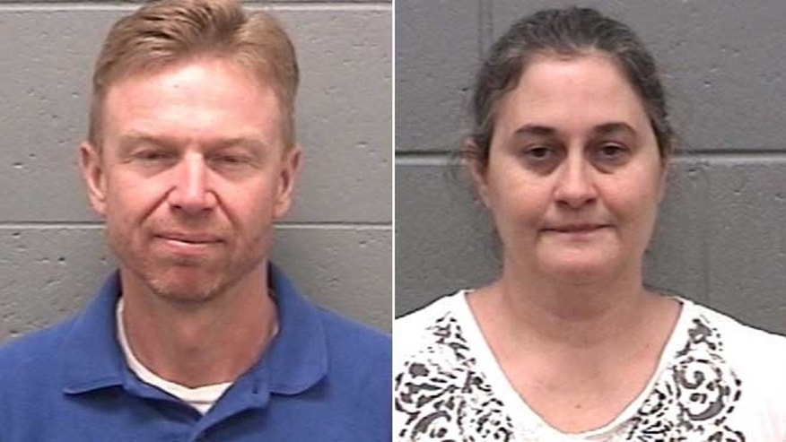 Samual and Diana Franklin are seen in an undated photo provided by the Taylor County, Ga., Sheriff's Office.