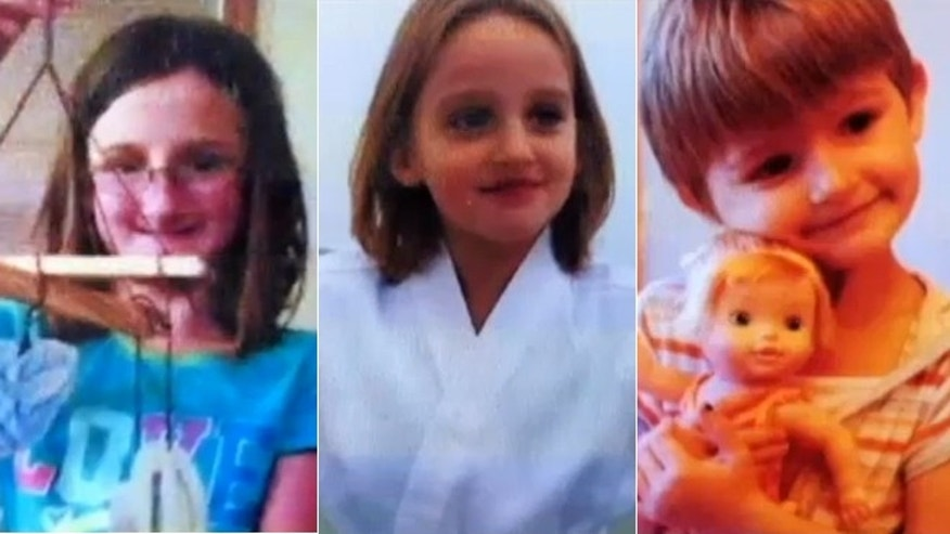 Police say Amara, 11, Sophie, 8, and Cecilia Schaffhausen, 5, were killed by their father in the Wisconsin home they shared with their mother.