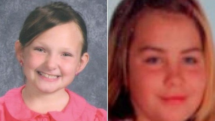 8-year-old Elizabeth Collins, left, and her cousin 10-year-old Lyric Cook, right, were reported missing on July 13, 2012.
