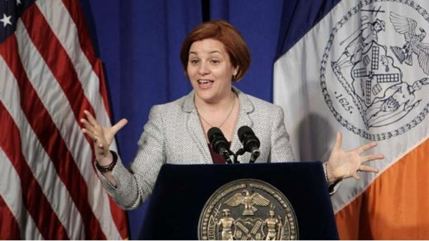 New York City Council Speaker Christine Quinn