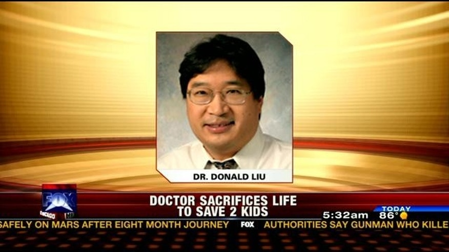 This undated photo, obtained by Fox affiliate WFLD, shows 50-year-old pediatric surgeon Dr. Donald Liu.