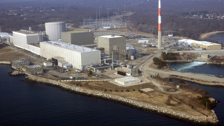 March 18, 2003 - File photo of the Millstone nuclear power facility in Waterford, Connecticut.