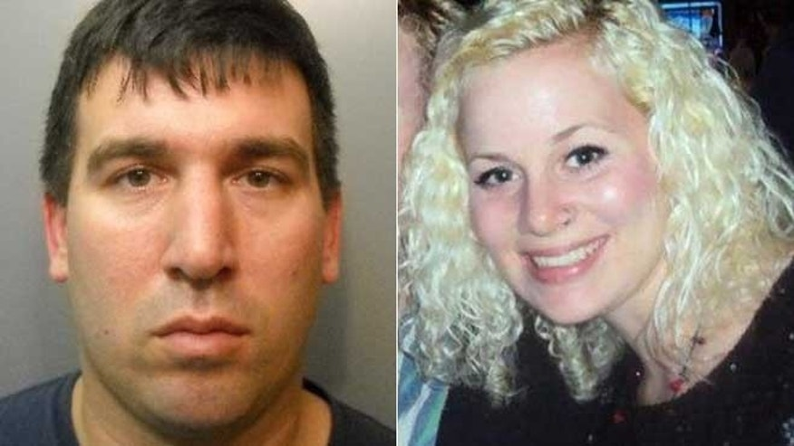 Brandon Scott Lavergne (L) a registered sex offender, has been booked on a charge of first-degree murder in connection with the disappearance last May of a Louisiana college student, Michaela Shunick, (R).
