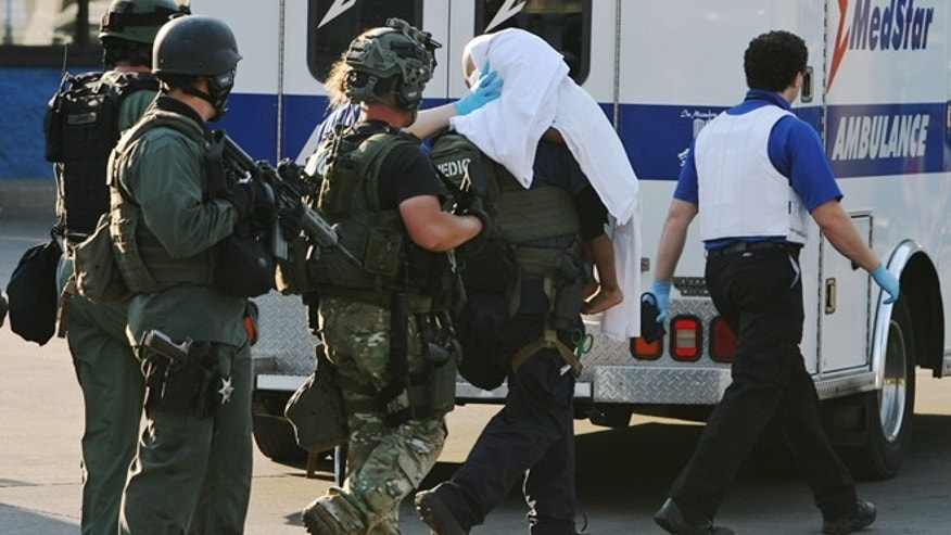 Aug. 23, 2012: The Madison County tactical response team rescues a 2-year-old child from a Washington Park, Ill., home where a teenage girl had been held captive.