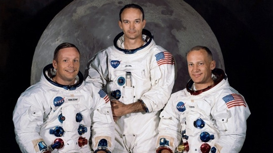 1. Neil Armstrong, Apollo 11, 1969: The crew of the Apollo 11 mission -- from left Neil Armstrong, Mission Commander, Michael Collins,  Lt. Col. USAF, and Edwin Eugene Aldrin, also known as Buzz Aldrin, USAF Lunar Module pilot. In all, 12 Americans walked on the moon from 1969 to 1972.