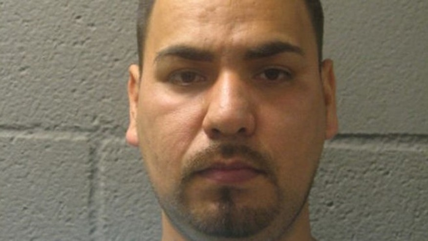 Alberto Nunez, 32, was charged with felony practicing dentistry without a license and misdemeanor unlawful possession of hypodermic syringes, Sheriff's police said.