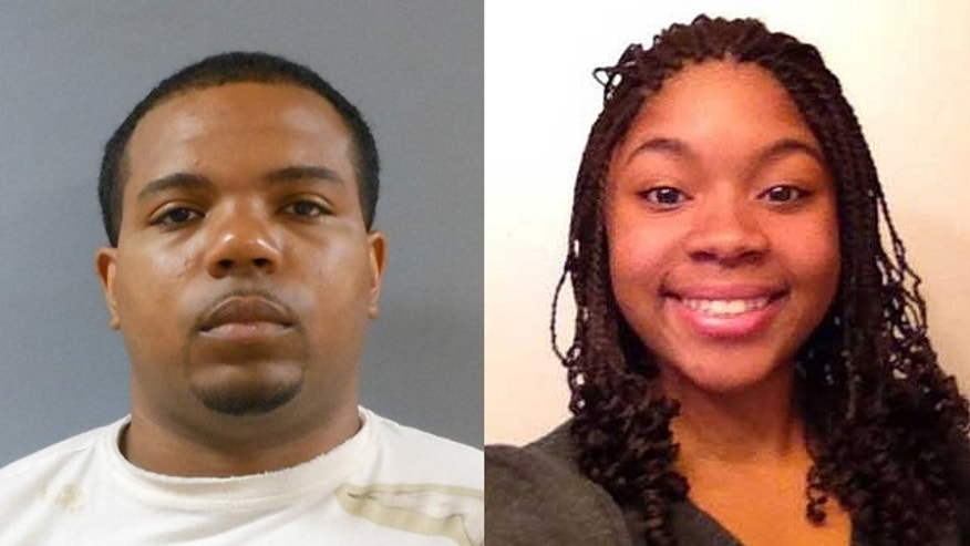 Police in the Dallas suburb of Carrollton say 30-year-old Franklin B. Davis, left, of Irving, was charged with capital murder Sunday after confessing to the death of 16-year-old Shania Gray. (MyFoxDFW.com/Carrollton Police Department)