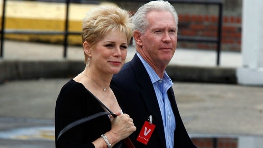 September 17, 2012: Kathryn MacDonald, who married convicted murderer Jeffrey MacDonald in 2002, leaves the Federal Courthouse in Wilmington, N.C.