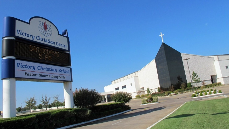 Sept. 19, 2012: Victory Christian Center in Tulsa, Okla. Five employees at the center face criminal charges for waiting more than two weeks to report the alleged rape of a 13-year-old girl on the south Tulsa campus.
