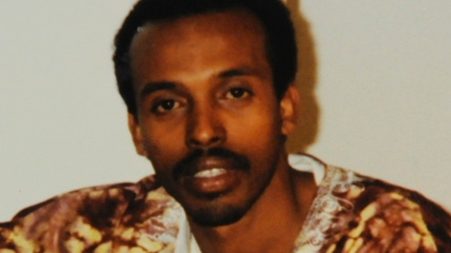 "This undated file family photo made available by his family in Minneapolis shows Mahamud Said Omar. The Somali man, accused of helping finance fighters for the terror group al-Shabab,  asked a judge pretrial hearing Monday, Sept. 24, 2011, to let him out of jail before his trial, saying he has a ""sickness of the devil"" and needs a traditional healer because he is seeing ghosts."