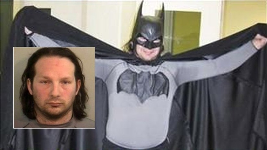 Mark Wayne Williams is known as 'The Petoskey Batman.'