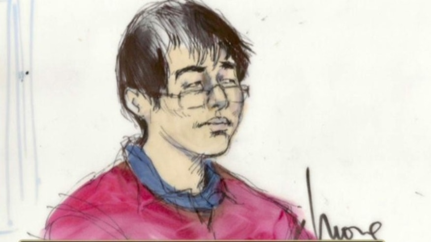 Yongda Huang Harris, who was arrested during a stopover at Los Angeles International Airport, U.S. Immigration and Customs Enforcement officials said Tuesday.