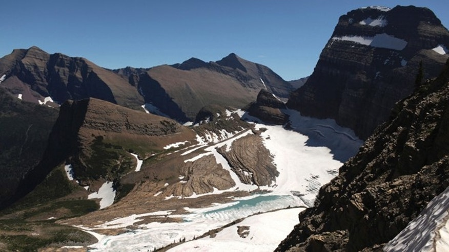 FILE 2011: View from atop the Grinnell Glacier Overlook trail in Glacier National Park, Montana