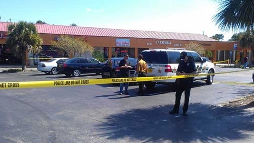 A gunman opened fire in a central Florida beauty salon, fatally shooting three women and wounding a fourth