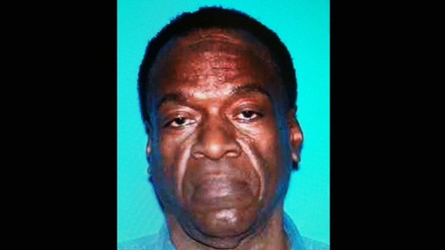 This photo provided by the Inglewood (Calif.) Police Dept. shows Desmond John Moses. Police say Moses, a masked gunman who set fire to his home before shooting five members of a Southern California family was in a dispute with the victims, Saturday, Oct. 20, 2012.