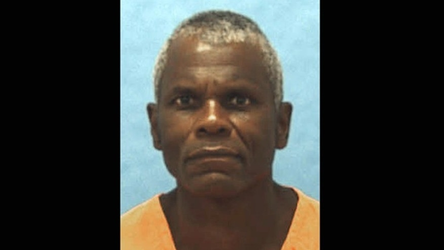 This undated photo provided by the Florida Department of Corrections shows death-row inmate John Errol Ferguson. Florida is going ahead with the execution of Ferguson, 64, a convicted mass killer from the 1970s, after an appeals court lifted a last-minute stay. Ferguson has been on Florida's death row for 34 years.