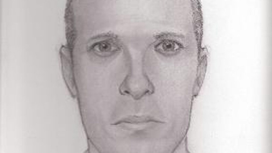 Police in Westwood, N.J., released this sketch of the man they say tried to lure a 13-year-old girl into his car on Thursday. The image matches the description of a man wanted in the attempted luring of a 12-year-old boy in Bergenfield on Monday.