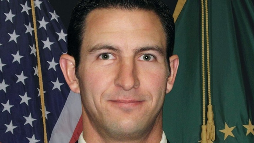 This undated photo provided by U.S. Customs and Border Protection shows slain Border Patrol agent Nicolas Ivie.