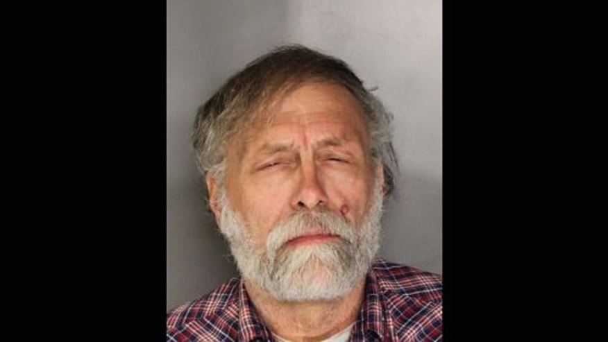 This image, obtained by FoxNews.com affiliate FOX40, shows Jerry Rasmussen who was arrested after shooting two alleged intruders in his California home on Wednesday, Nov. 7, 2012.