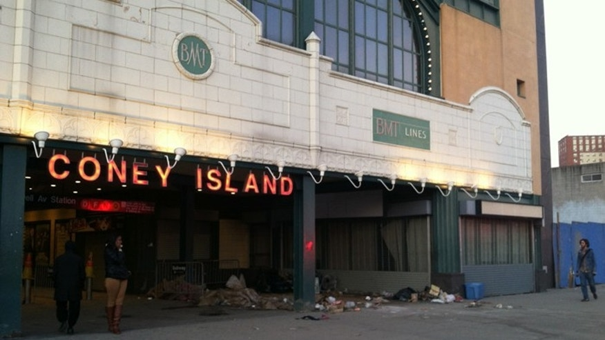 The storied New York community of Coney Island was hit hard by superstorm Sandy. (FoxNews.com/Perry Chiaramonte)