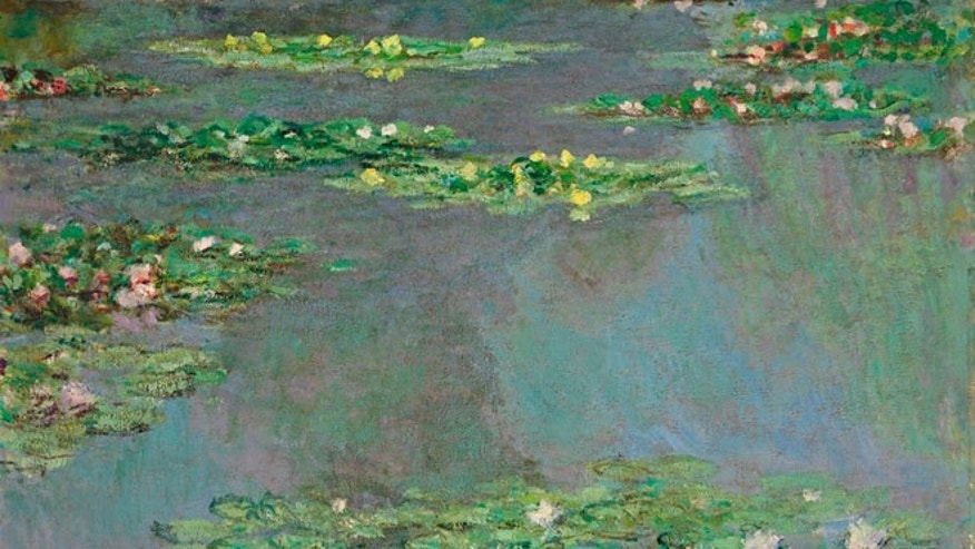 "Nov. 9, 2012: This image provided by Christie's Images, Ltd, in New York, shows a work from Claude Monet's ""Water Lilies"" series."