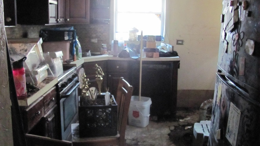 The family hasn't been able to stay in their home since the Oct. 29 storm.