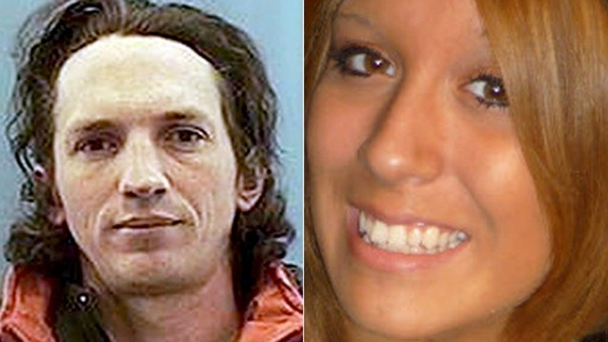 This photo shows  Israel Keyes and Samantha Koenig.