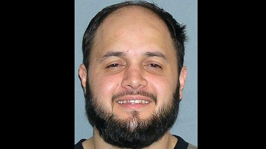 This undated file photo provided by the U.S. Marshals Service shows Shaker Masri, 29, of Chicago.