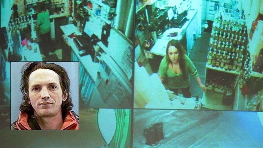 Dec. 4: Samantha Koenig, 18, makes a cup of Americano coffee for a customer who shortly after abducted her Feb. 1, 2012, in Anchorage, Alaska. Police say Israel Keyes murdered her and targeted her boyfriend.