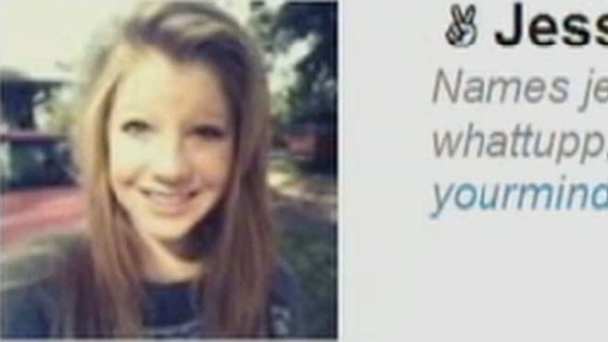 Jessica Laney killed herself and her friends blame comments on one of her social networking pages.