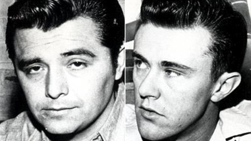 This photo shows Perry Smith, left, and Dick Hickock.