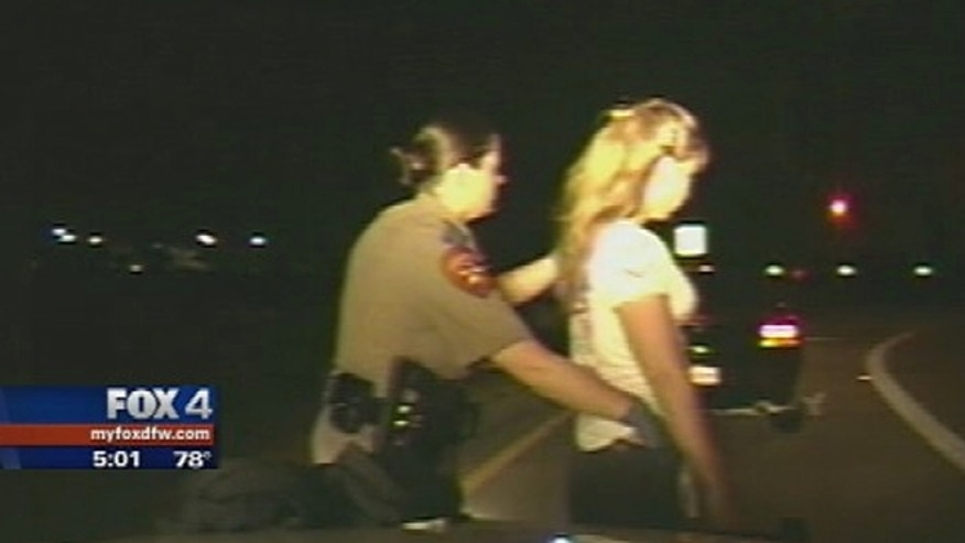 Two Texas women claim they were molested during a roadside cavity search.