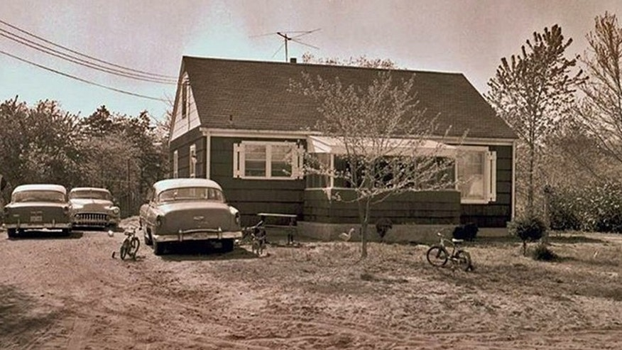 The Jones' residence in May 1965, some three years after William's disappearance. (FBI.gov)
