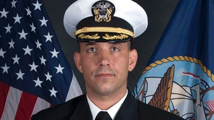 Navy SEAL Cdr. Job W. Price.