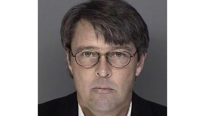 January 4, 2013: Kolbjorn Jarle Kristiansen, 48, a pilot for regional carrier American Eagle, is seen in this police booking photo released by the Minneapolis-St Paul Airport Police.