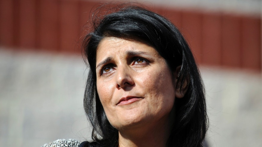 South Carolina Gov. Nikki Haley says her state doesn't need unions. (AP Photo/Rainier Ehrhardt)