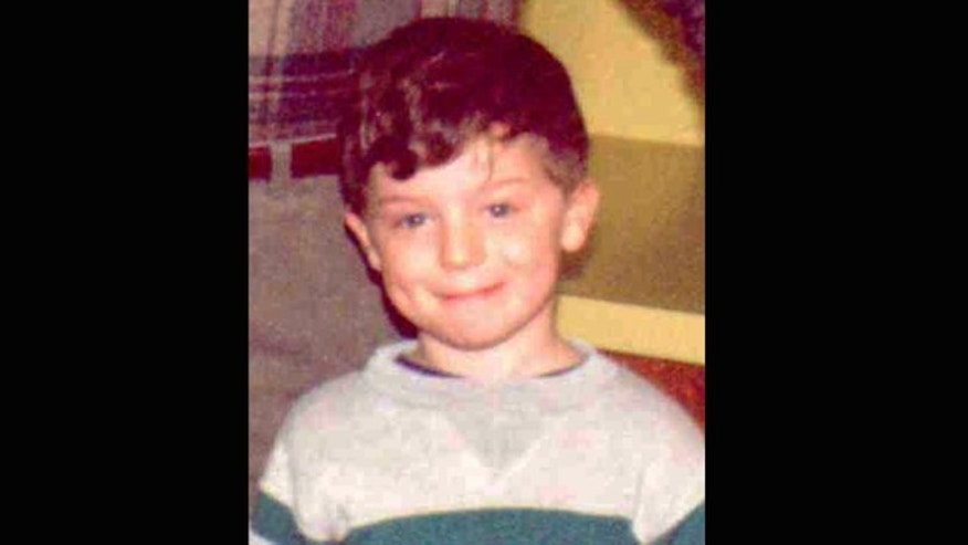 This photo provided by the Indiana State Police shows Richard Wayne Landers, Jr. who authorities say was abducted from Indiana by his paternal grandparents in 1994 during custody proceedings.