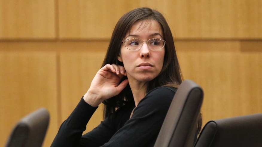 Jan. 9, 2013: Jodi Arias appears for her trial in Maricopa County Superior court in Phoenix. Arias is charged with murder in the death of her boyfriend, Travis Alexander, and prosecution is seeking the death penalty.