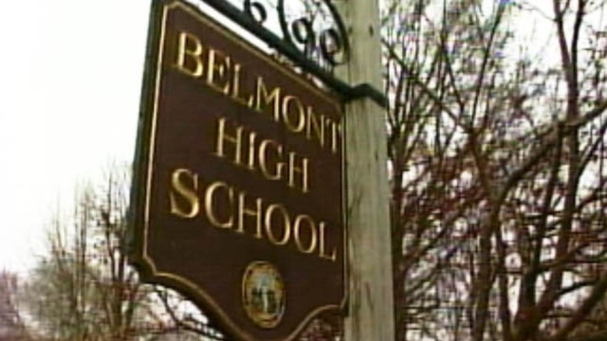 Belmont High School in Massachusetts.